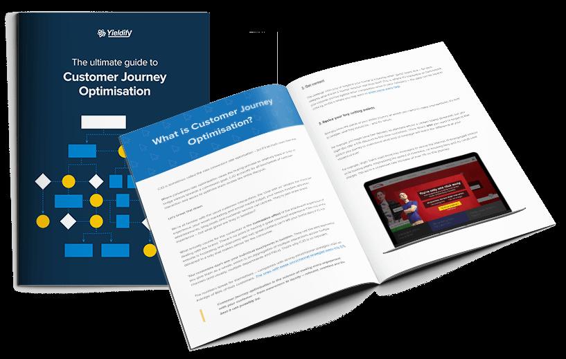 The Ultimate Guide to Customer Journey Optimization Ebook | Yieldify