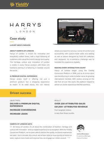 Harrys of London case study