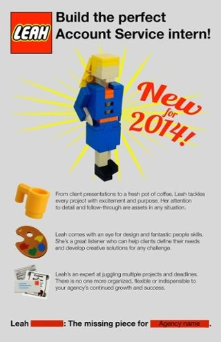 Lego recruitment