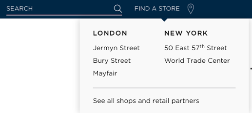 Turnbull and Asser store locations