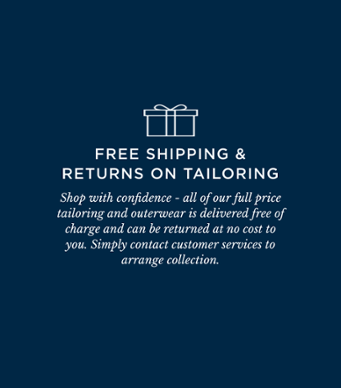 Turnbull and Asser free shipping