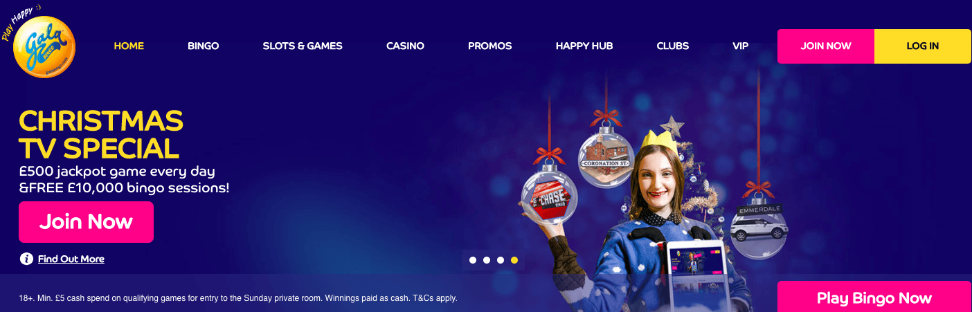 Gala Bingo Christmas promotion