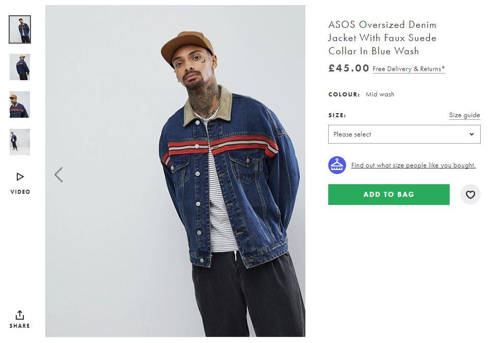 ASOS example increase order value