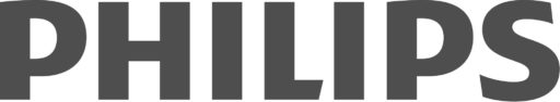 Philips logo grey