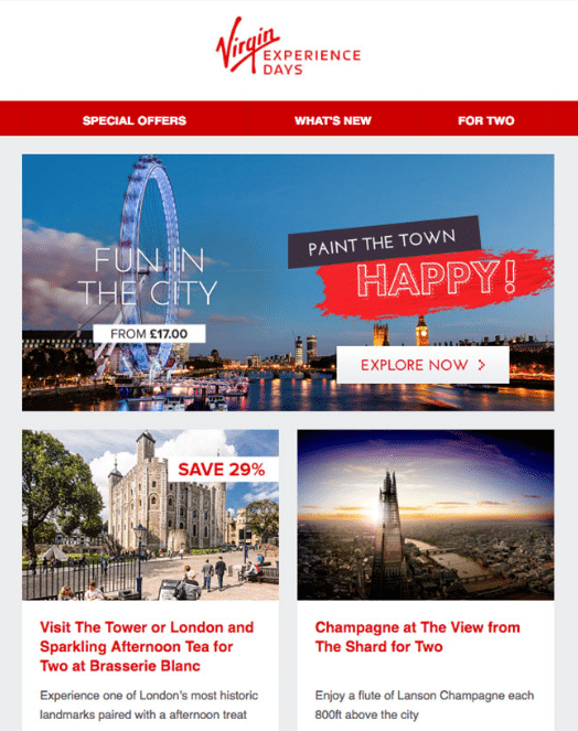 Virgin Holidays personalize loyalty rewards