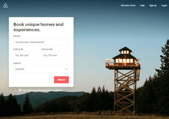 personalization for travel airbnb